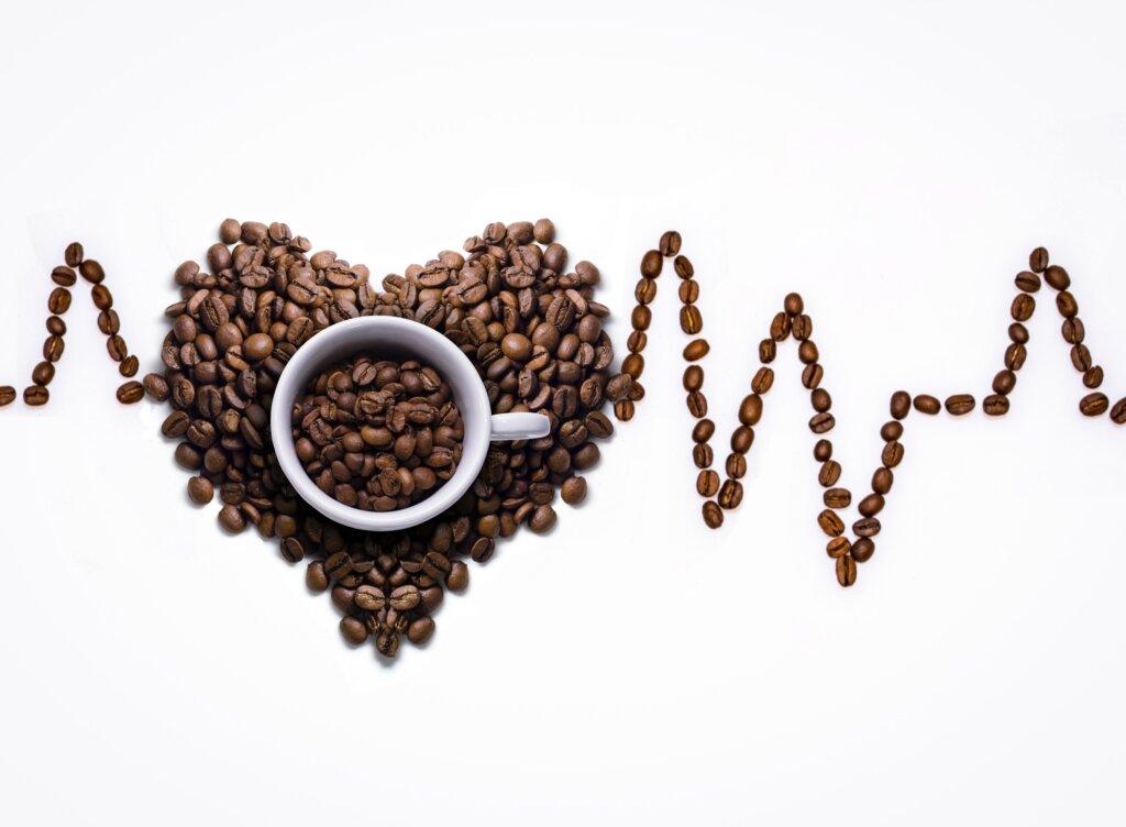 coffee cup coffee cup coffee beans ecg curves coffee foam 1446741 pxhere.com  1024x752 - Coffee Helps You Live Longer